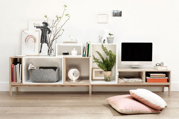 'Stacked' by Muuto | Six of the best... Scandinavian shelving systems | These Four Walls blog