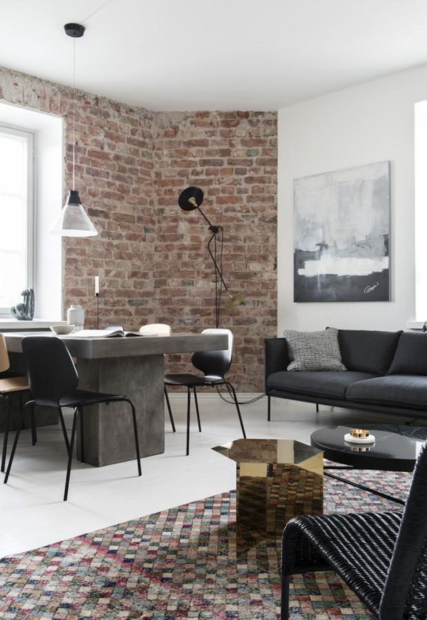 Home tour | A loft-like Helsinki apartment | These Four Walls blog