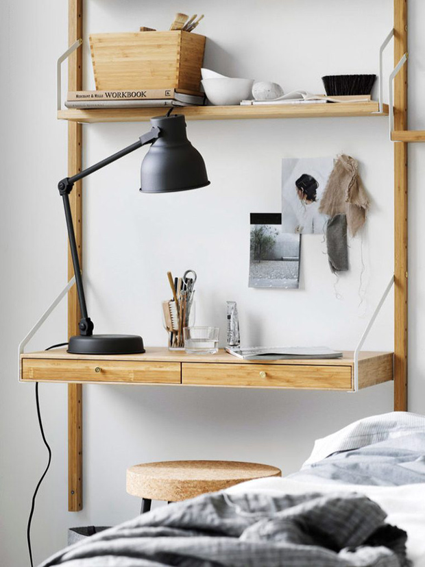 Flexible 'SVALNÄS' shelving from IKEA | New furniture & homeware finds - June 2017 | These Four Walls blog