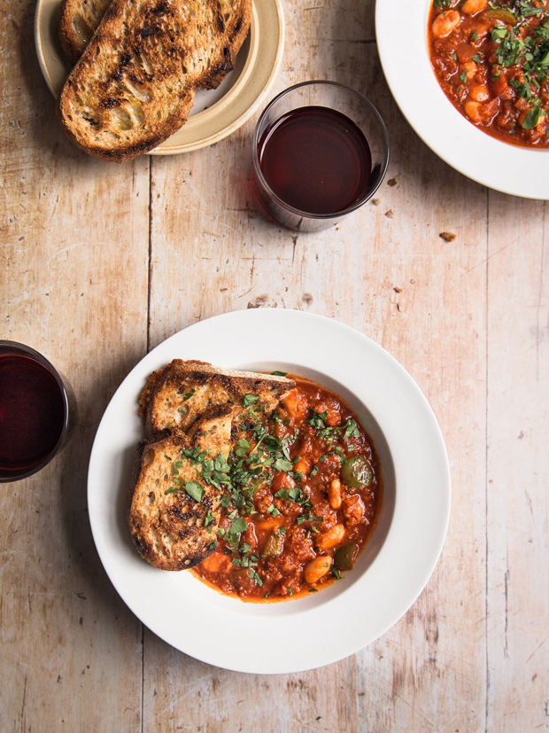Recipe | Nduja, pepper and bean stew | These Four Walls blog