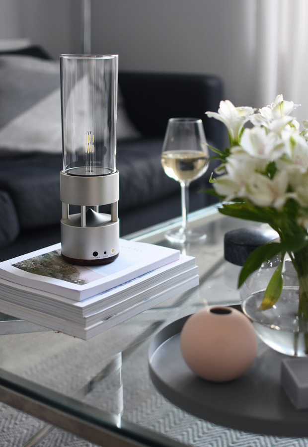 The Sony 'LSPX-S1 Glass Sound' speaker | Six of the best home-entertainment gadgets for minimalists | These Four Walls blog