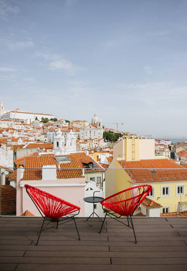 Memmo Alfama | Five stylish places to stay in Lisbon | These Four Walls blog