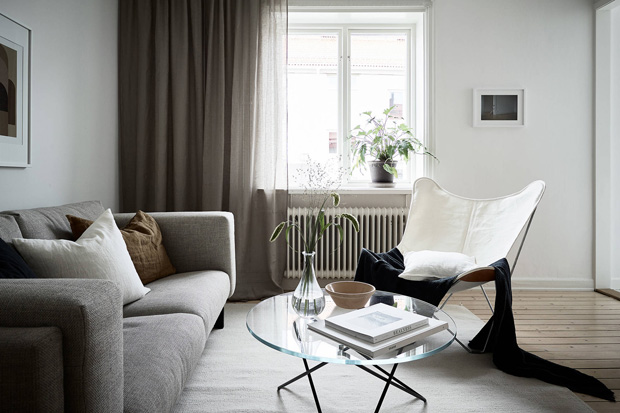 Home tour | Small-space living in neutral tones | These Four Walls blog