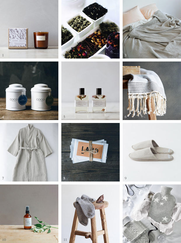 Christmas gift guide | A cosy night in | These Four Walls blog