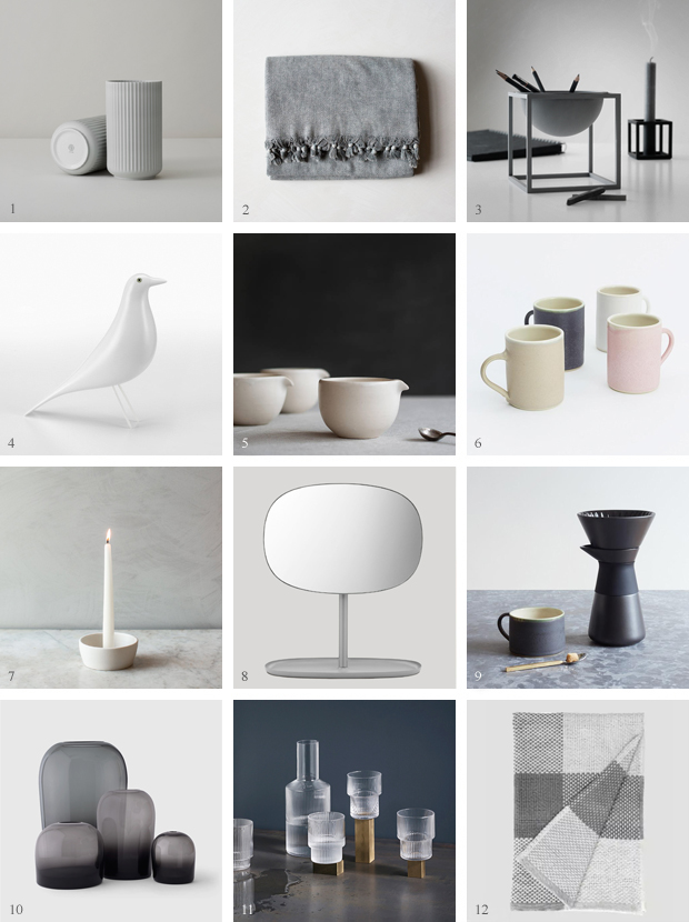 Christmas gift guide | Timeless design | These Four Walls blog