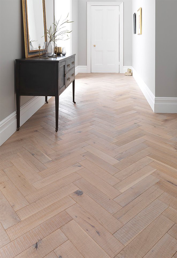 Parquet flooring | Interior-design trends for 2018 | These Four Walls blog