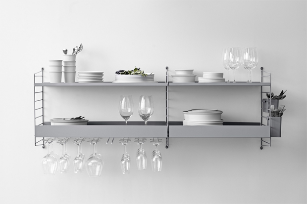 New shelving inspiration from String   These Four Walls blog