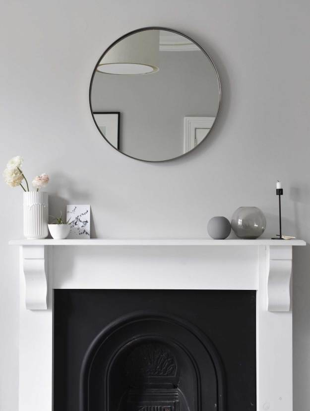 12 Of The Best Minimalist Round Wall Mirrors These Four Walls