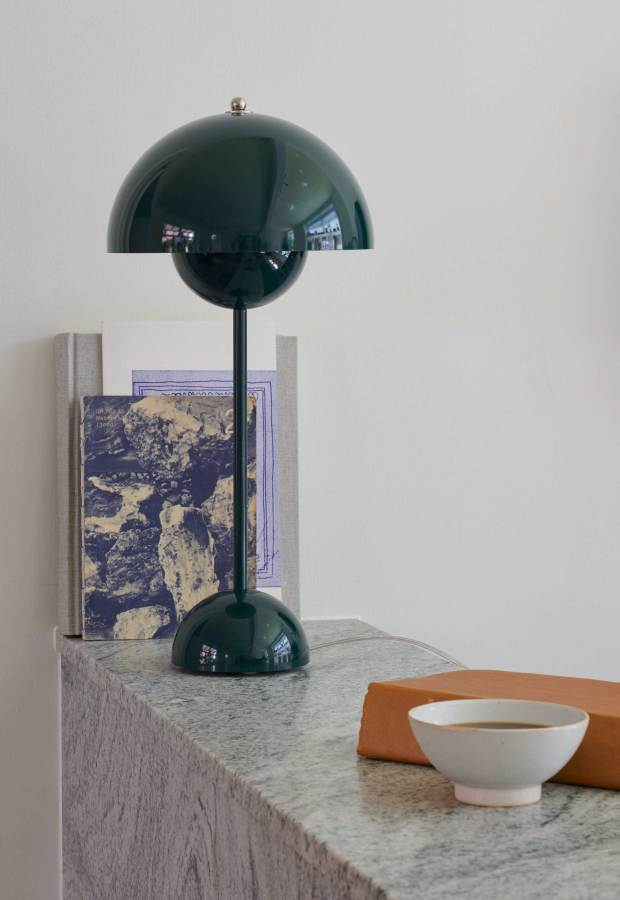 A 50th-anniversary edition of Verner Panton's 'Flowerpot' lamp | These Four Walls blog
