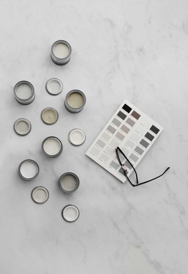 My minimalist hallway makeover - mood board & plans | These Four Walls blog