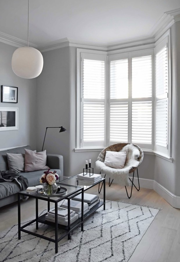 Made-to-measure window shutters from Shutterly Fabulous | These Four Walls blog
