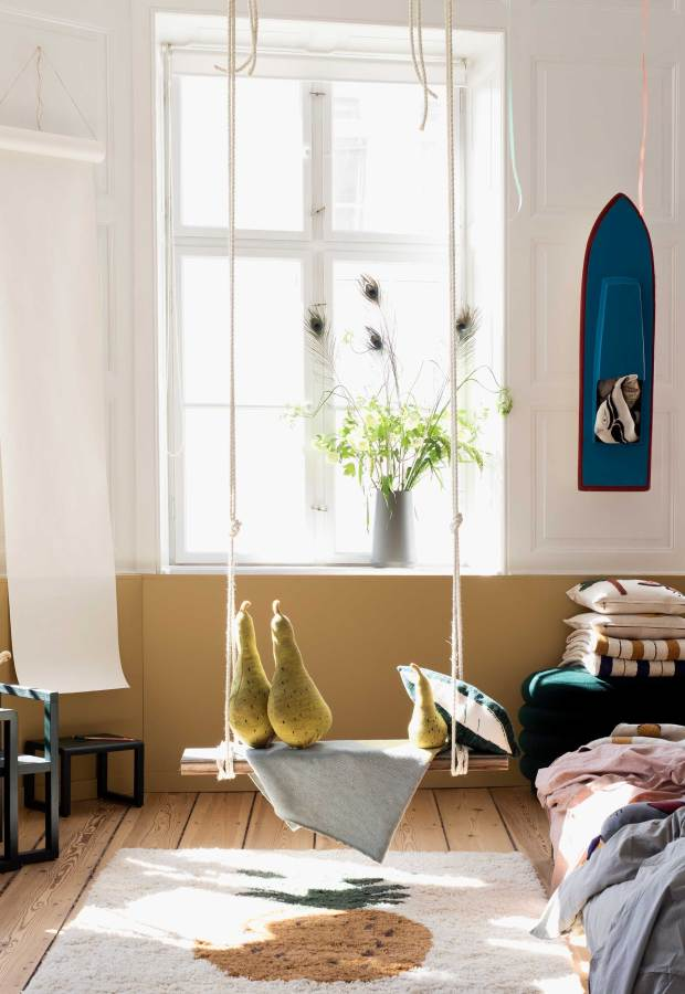A soft beige makeover for 'The Home' by Ferm Living | These Four Walls blog