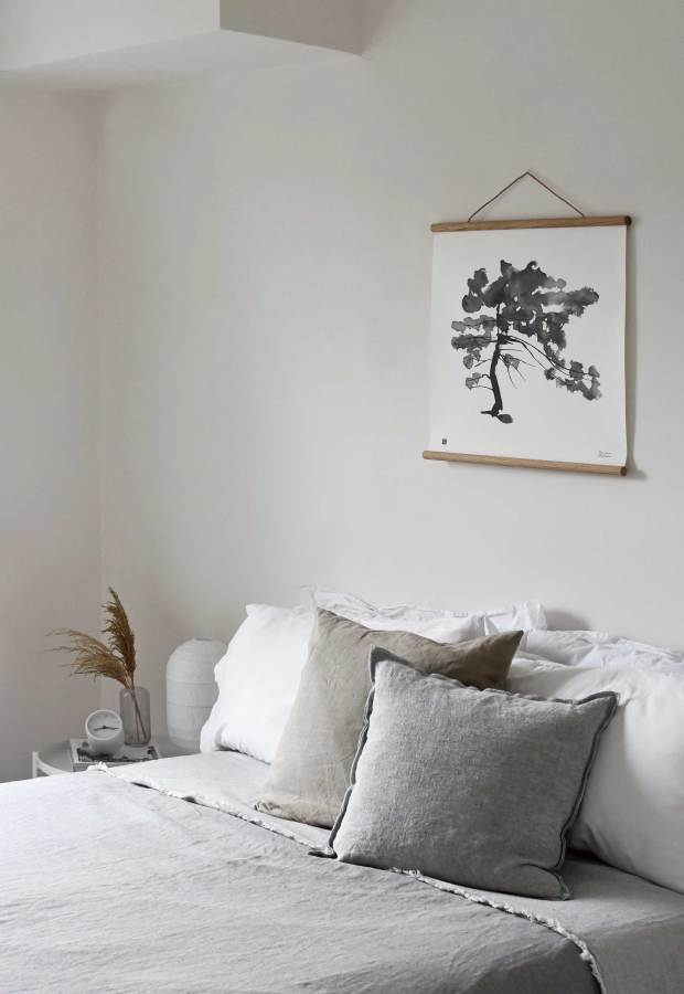 A guest bedroom wall-art update with NØRDIK | These Four Walls blog