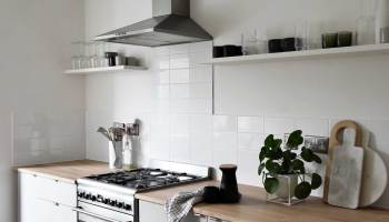 A Minimalist Kitchen Makeover On A Budget Mood Board Plans These Four Walls