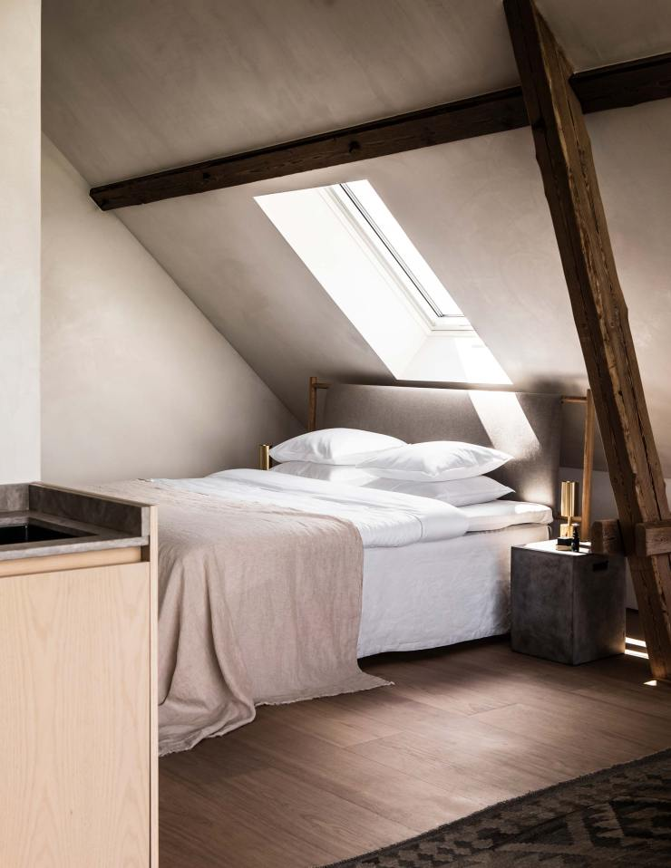 The Typeo Loft A Minimalist One Room B B In Skane Southern Sweden These Four Walls