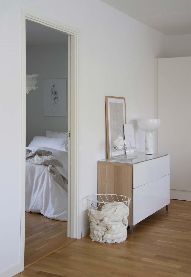 Home tour - a serene new-build apartment in Stockholm | These Four Walls blog