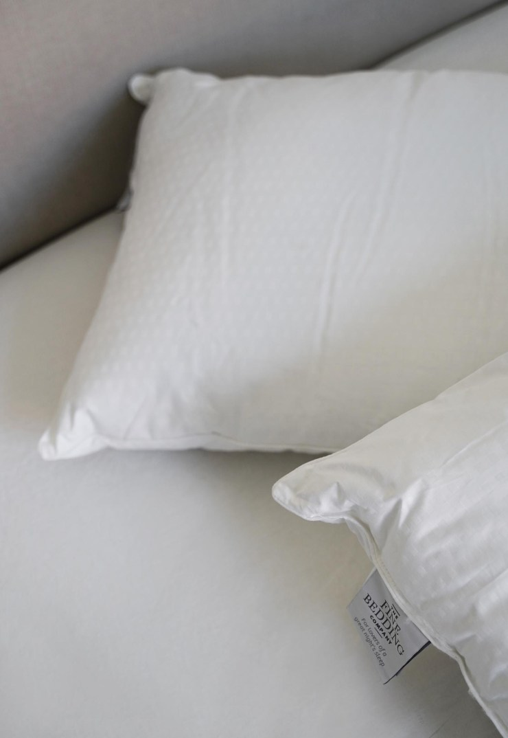 The Fine Bedding Company's temperature-control bedding - review + giveaway | These Four Walls blog
