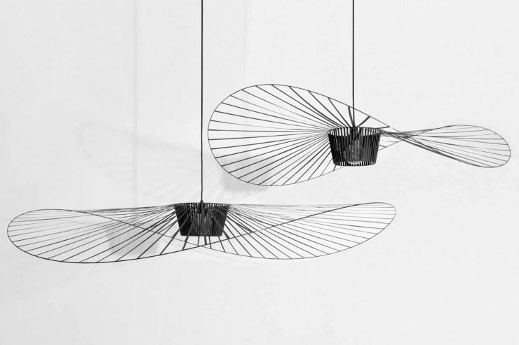 Black 'Vertigo' pendant lamps by Petite Friture | The design classics of the future | These Four Walls blog