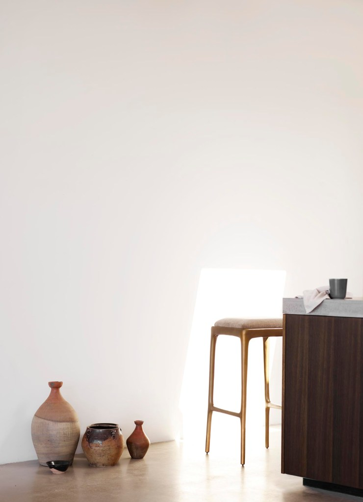 Minimalist kitchen and earthy neutral decor from Tine K Home's latest collection | These Four Walls blog