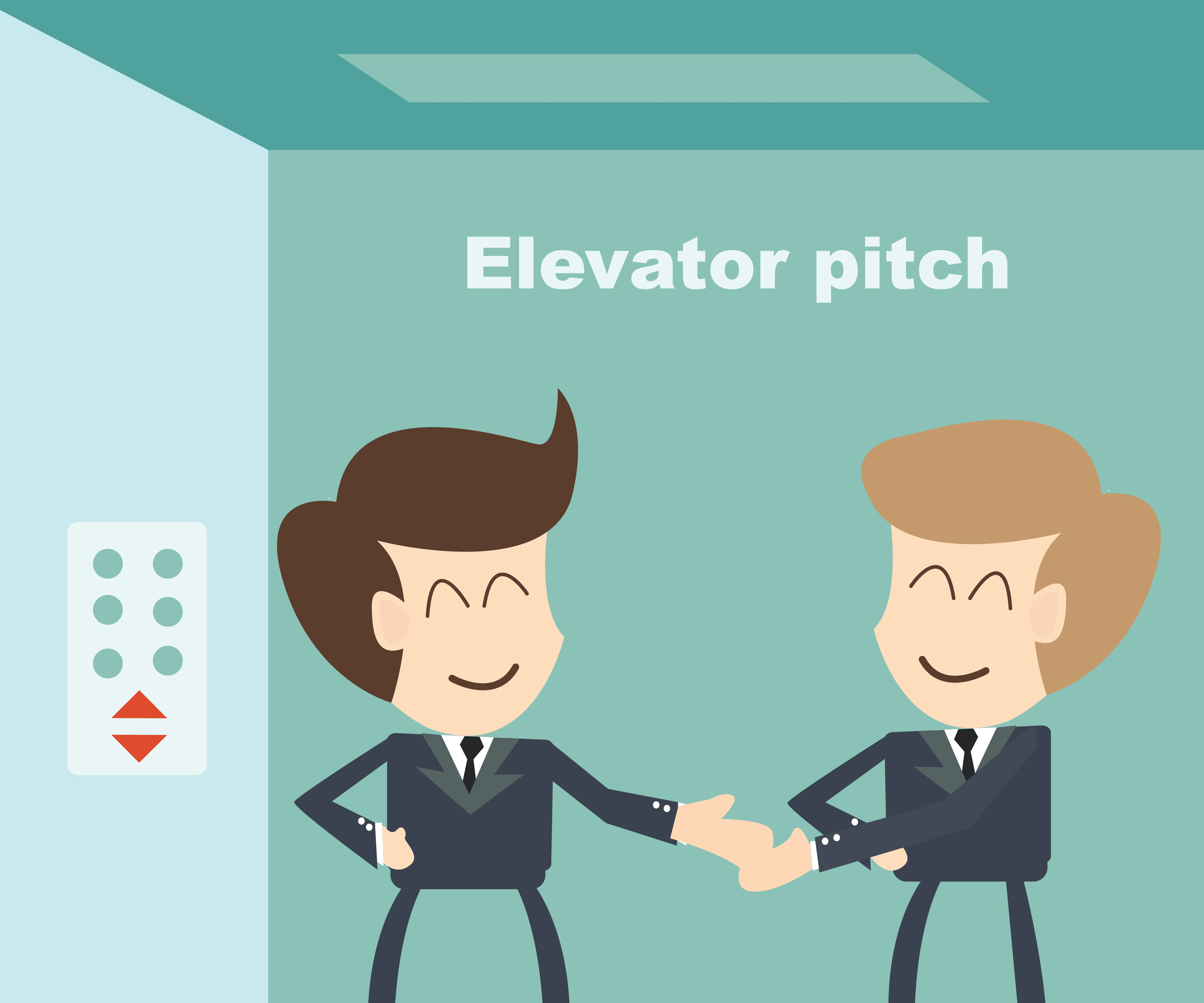Infographic Crafting The Perfect Elevator Pitch