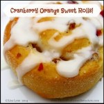 Cranberry Orange Sweet Rolls