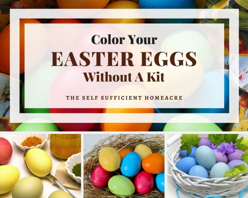 Color Your Easter Eggs without a kit