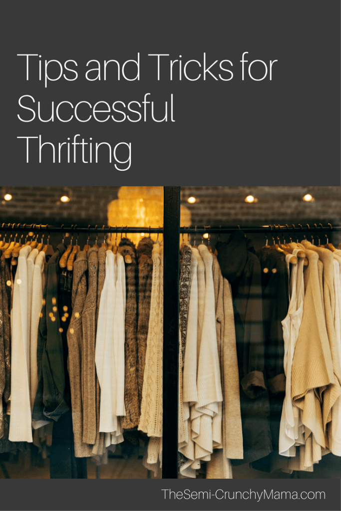 Tips for successful thrift store shopping