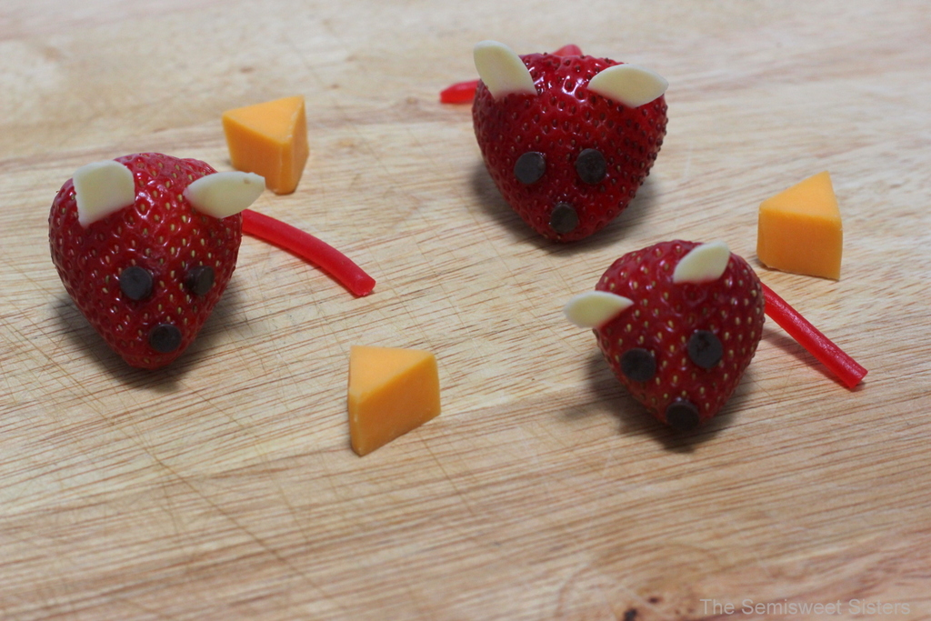 Strawberry Mice Kids Snack
