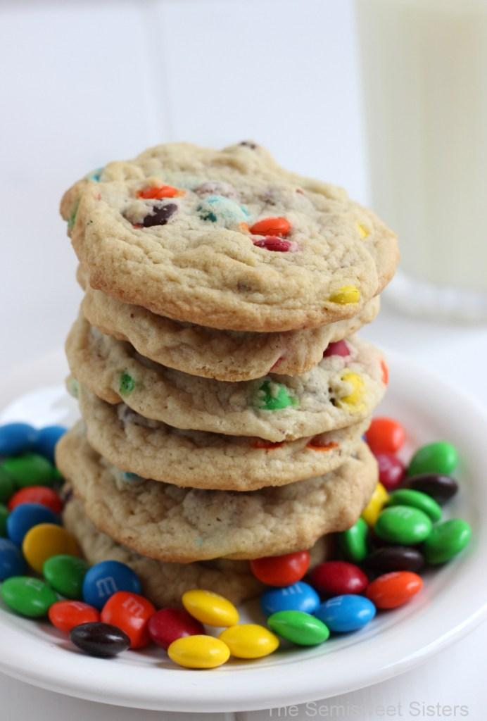 Soft Chocolate Chip M&M's Cookie Recipe