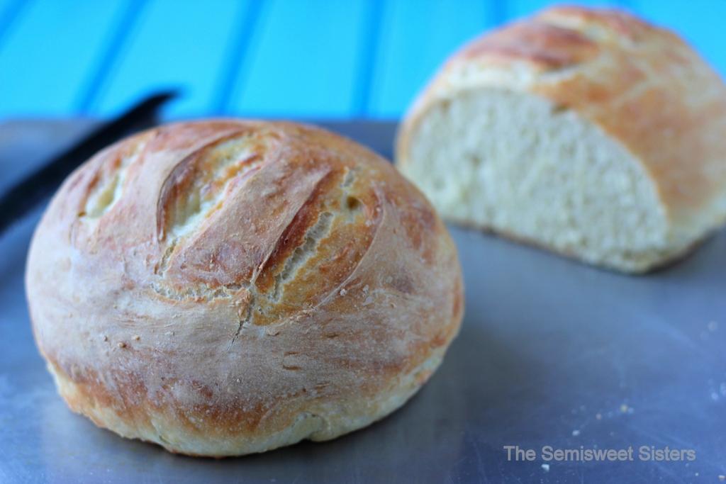Easy 4 Ingredient Artisan Bread Recipe