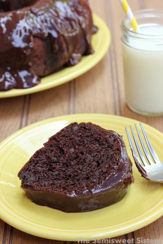 Easy Chocolate Bundt Cake Recipe with Sour Cream