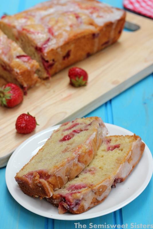 Strawberry Swirl Bread. Moist Strawberry Bread with Yogurt