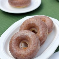 Baked Sour Cream Donuts Recipe