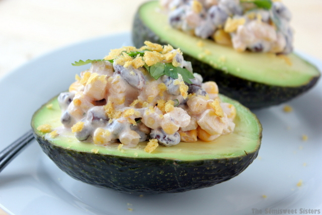 Skinny Southwest Avocado Bowls Recipe