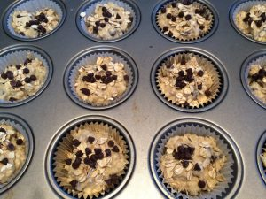 Chocolate Chip Oatmeal Muffins Recipe