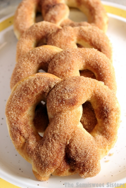 Copycat Auntie Anne's Cinnamon Sugar Soft Pretzel