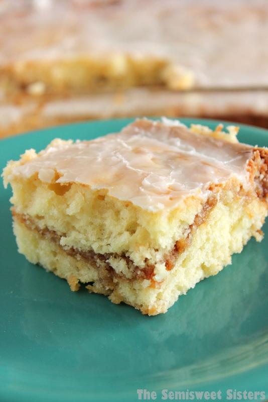 Honey Bun Cake From Scratch No Cake Mix