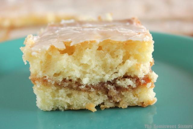 Honey Bun Cake From Scratch (no cake mix)