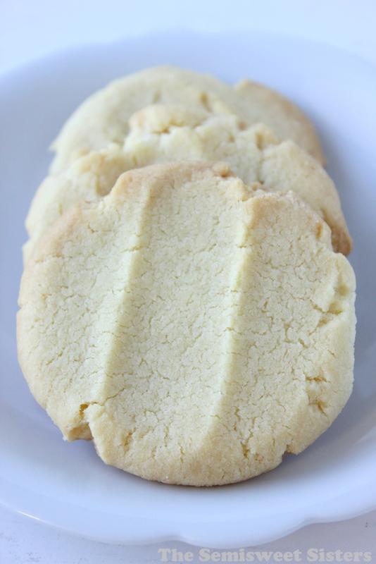 CPS Lunchroom Butter Cookies (4 Ingredients)