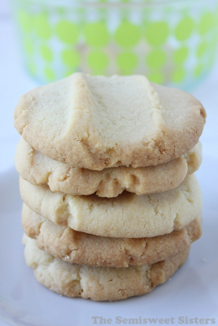 CPS Lunchroom Butter Cookies (4 Ingredients)
