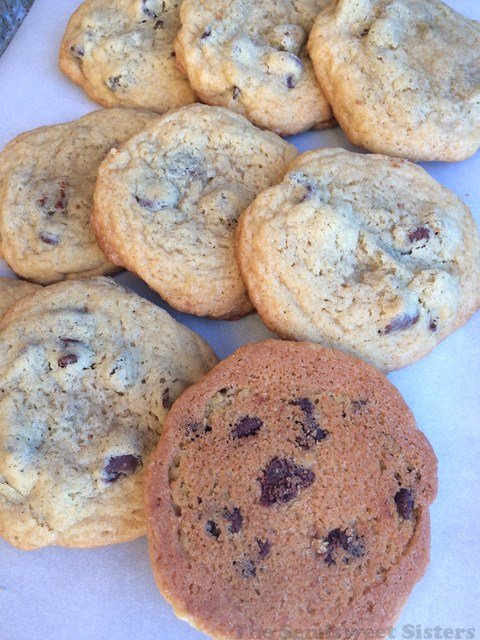 Almost Toll House Chocolate Chip Cookies
