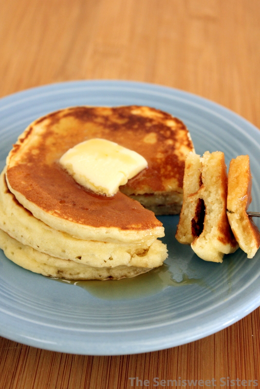 Fluffy dairy free pancakes recipes makes 1 2 servings double recipe if you want more pancakes fluffy dairy free pancakes ccuart Choice Image