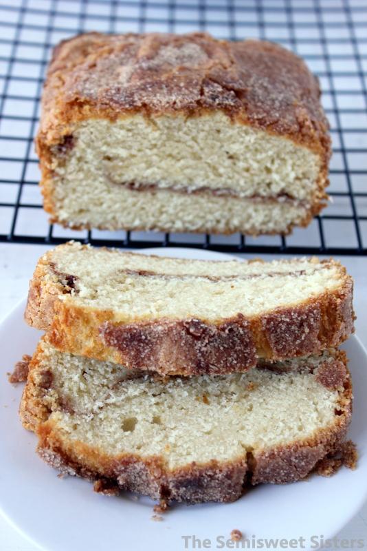 Cinnamon Swirl Sour Cream Pound Cake