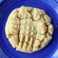 Peanut Butter Cookies Made With Natural Peanut Butter
