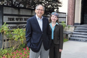 Words and concepts matter, says Rabbi Ron Aigen, with cantor Heather Bachelor.