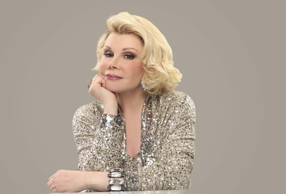 Joan Rivers hosts a gala with comics Lynne Koplitz, Josh Thomas, Jen Kirkman and Ronna & Beverly. July 27, 5 pm, Place des Arts, Salle Wilfrid-Pelletier. (Photo courtesy of Just for Laughs)