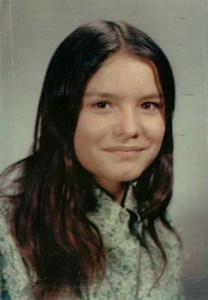 Bev Sellars at 13. She believes aboriginal history should be taught in schools. (Photo courtesy of Talonbooks)