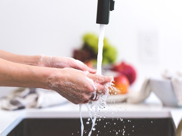Hand washing is the foundation of good health.