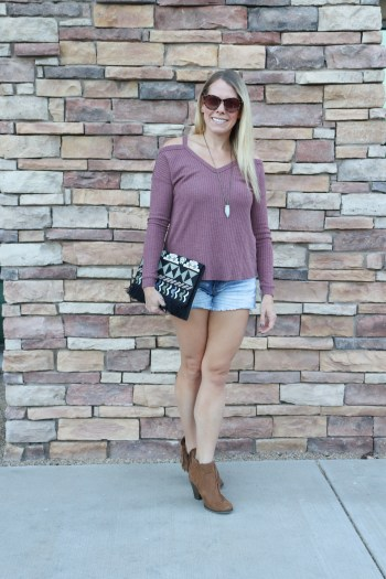 Mauve is the perfect color for Fall