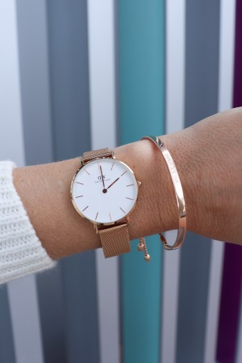 This Daniel Wellington watch would make such a great gift idea